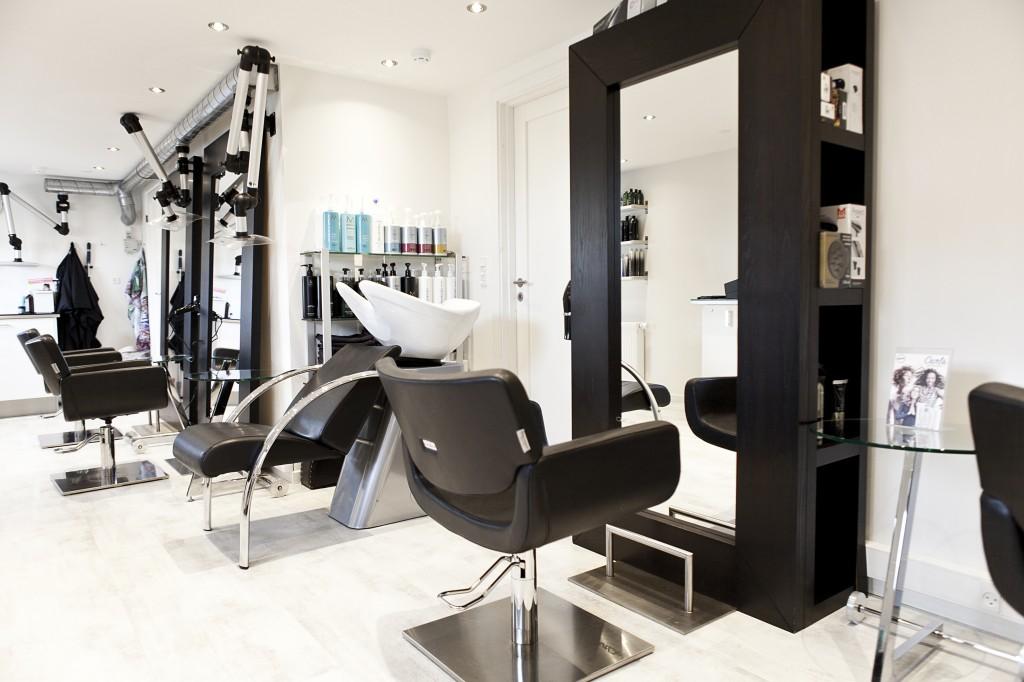 Salon set fra venteplads