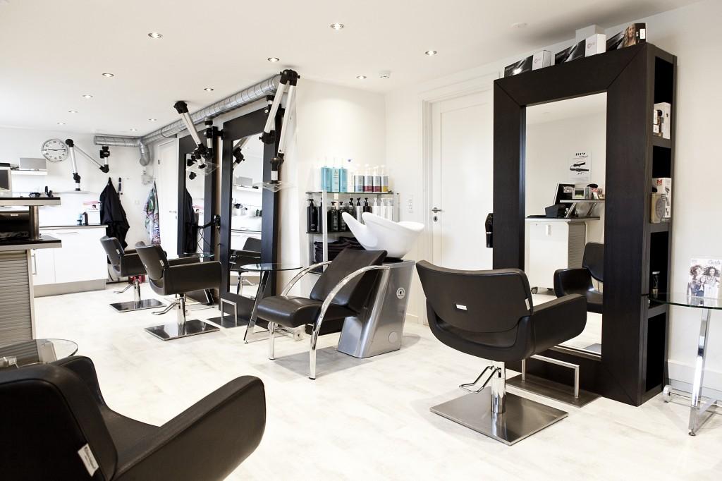 Salon set fra indgang