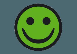 Arbejdstilsynets grønne smiley til CutDeLuxe